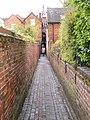 Friar's Alley - geograph.org.uk - 1863658.jpg