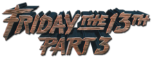 Description de l'image Friday 13th Part 3 logo.png.