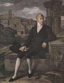 Christian Gottlieb Schick: Friedrich IV. von Sachsen-Gotha in Rom, Öl auf Leinwand, 1806, Kunstsammlungen der Veste Coburg (Quelle: Wikimedia)