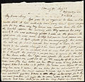 From Anne Warren Weston to Mary Gray Chapman; Wednesday, May 23, 1838 p1.jpg