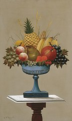 Fruit with Blue-footed Bowl