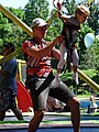 Fun on the Bungee Swing - City Park - Brest - Belarus (27409456321).jpg