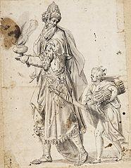 Abraham i Izaak w drodze na miejsce ofiary