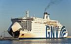 GNV Cristal (ship, 1989), Sète 2018-09-28.jpg