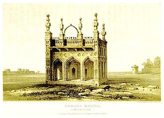 Ahmadnagar Sultanate - Image: GRAY(1852) pg 339 AHMEDNUGGUR DUMREE MUSJID