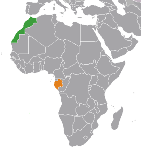 Gabon Morocco locator map.png