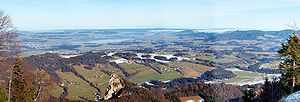 Seekirchen am Wallersee - Image: Gaisberg wallersee