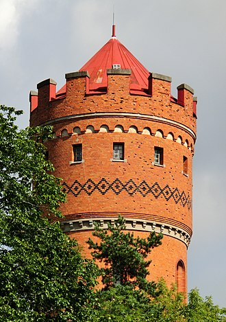 Agnes Magnell - Water tower in Sala, designed by Agnes Magnell