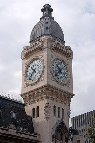 Station clock - Image: Gare de Lyon x CRW 1311