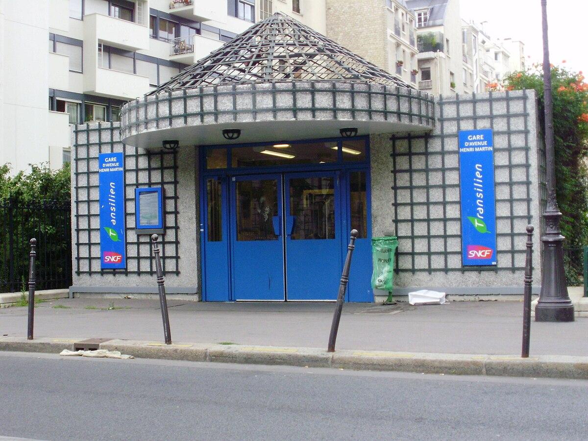 Avenue henri martin paris rer wikipedia - Gare montparnasse porte maillot ...