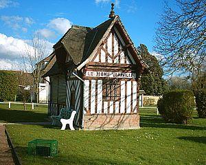 Chemins de Fer du Calvados - Image: Gare du Home Varaville