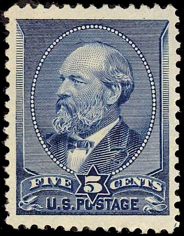 Garfield 1888 issue-5c