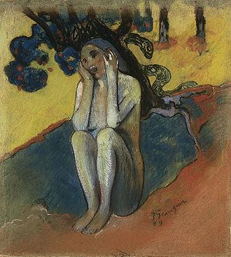 Spirit of the Dead Watching - Breton Eve, 1889, McNay Art Museum