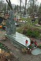 Gdańsk Cmentarz Garnizonowy – Kinga Choszcz (zdewastowany).JPG