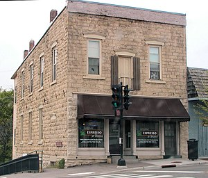 National Register of Historic Places listings in Polk County, Wisconsin - Image: Geiger Building