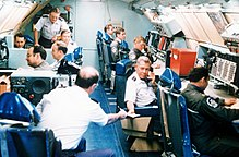 Gen. Richard A. Ellis, Strategic Air Command, commander in chief, Boeing EC-135, Exercise Global Shield '79.jpg