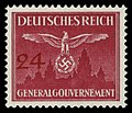 Generalgouvernement 1943 D31 Dienstmarke.jpg