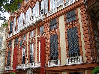 Palazzo Rosso (Genoa) - Image: Genova Palazzo Rosso 1