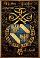 Gent, Sint-Baafskathedraal blazoen Joachin Seigneur de Rye B STB 433 202.jpg