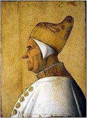 Portrait of Giovanni Mocenigo by Gentile Bellini