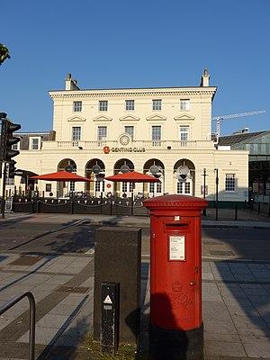 Southampton Terminus railway station - Terminus Station, now a casino