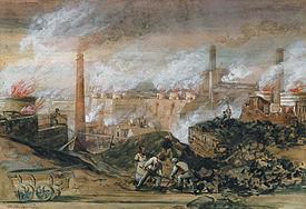 George Childs Dowlais Ironworks 1840