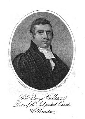 George Collison - George Collison, 1811 engraving