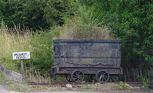 Killingworth -  Coal wagon, Killingworth