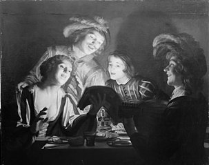 Musical Group by Candlelight
