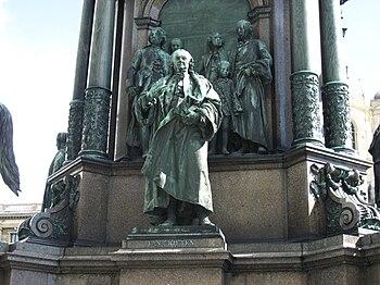 Gerard van Swieten statue