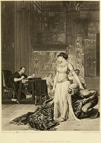 Cleopatra And Caesar Painting Wikiwand