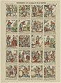 Geschiedenis van Ali-Baba of de 40 roovers (titel op object) Prentjesdruk van Épinal (serietitel op object), RP-P-OB-205.483.jpg