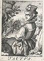 Gevoel (Tactus), een vrouw met een vogel.jpeg