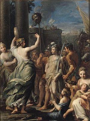 Musée Fesch - Giacomo Boni, The Triumph of  David.
