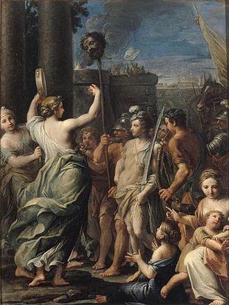 Giacomo Boni (painter) - Triumph of David