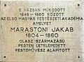 Giacomo Marastoni plaque Bp05 Deák Ferenc21.jpg