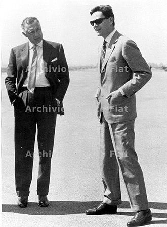Umberto Agnelli - Umberto Agnelli (right) with Gianni Agnelli, 1965