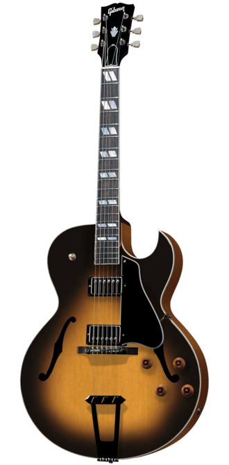 Jazz guitar - Hollowbody electric guitars are quite common in jazz; the Gibson ES-175 is a classic example. It has been in production continuously since 1949.
