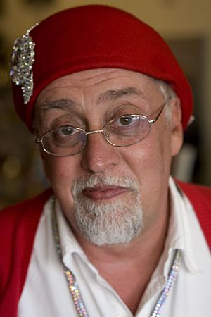 Gilbert Baker (artist) - Gilbert Baker at San Francisco Pride 2012