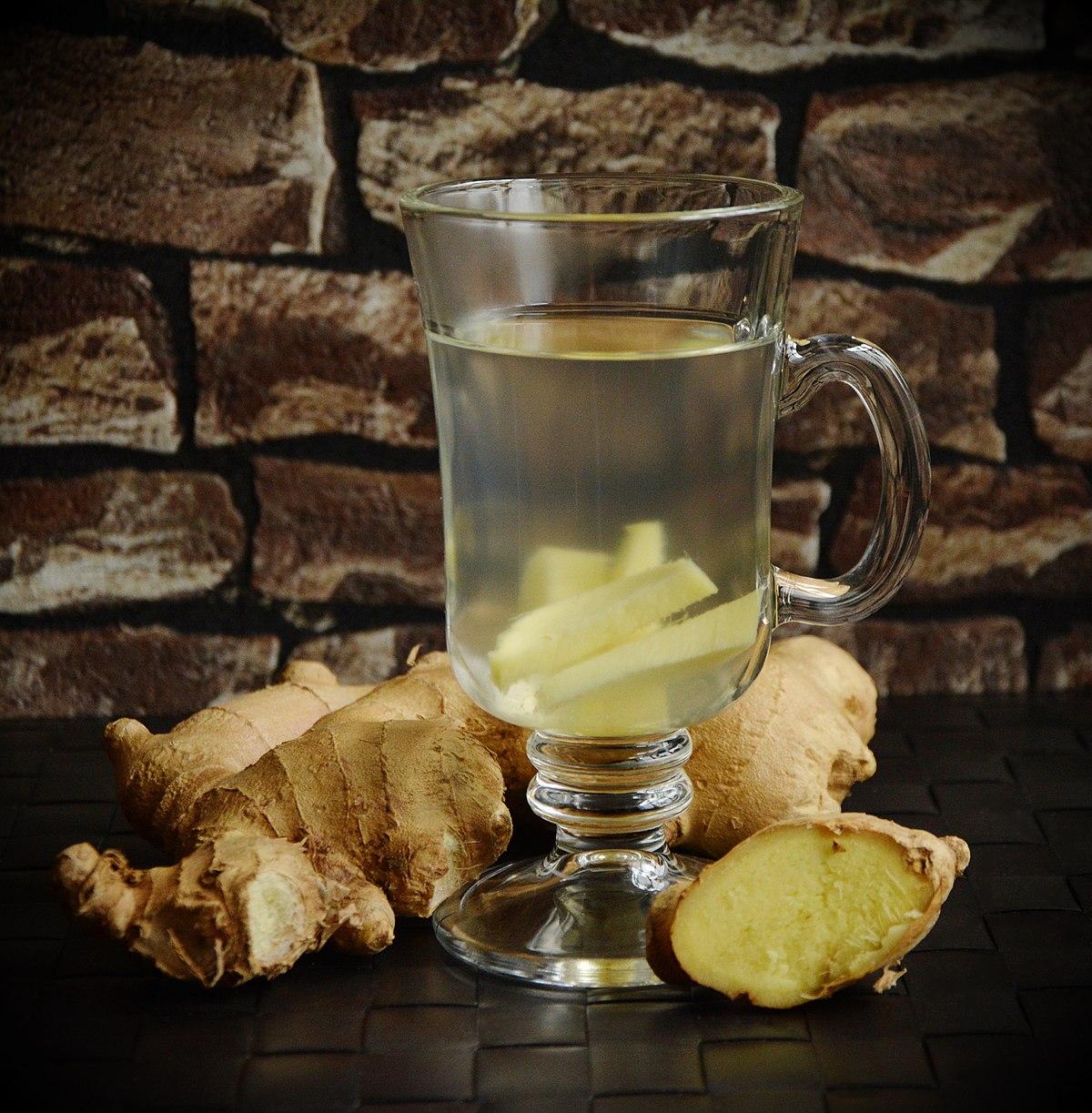 Ginger Tea Wikipedia Kerupuk Kemplang Ikan By Ff Pgp