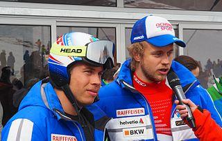 Gino Caviezel Swiss alpine skier