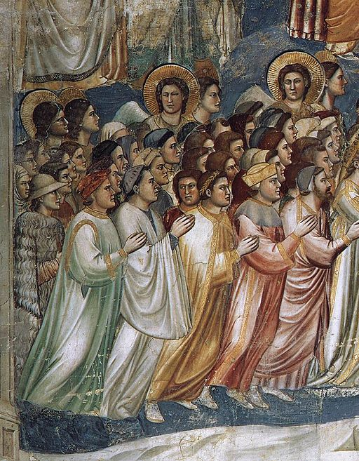 Giotto di Bondone - Last Judgment (detail) - WGA09235