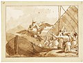 Giovanni domenico tiepolo punchinello carried off by an eagle.jpg