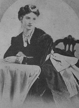 Giuseppina Morlacchi - Giuseppina Morlacchi in 1873