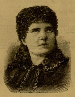 Giuseppina Pasqua - Giuseppina Pasqua in an 1888 engraving