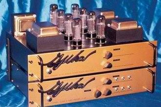 Gjika Amplification - Image: Gjika Gold Amp