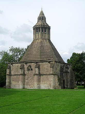 Glastonbury Abbey - The Abbot's Kitchen