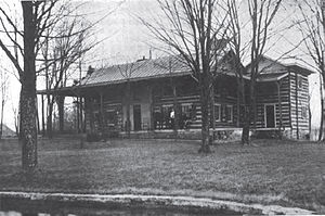 Simon Bolivar Buckner - Glen Lily, the house where Buckner was born and died
