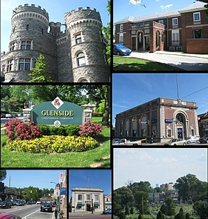 Glenside, Pennsylvania - Image: Glenside Collage 2