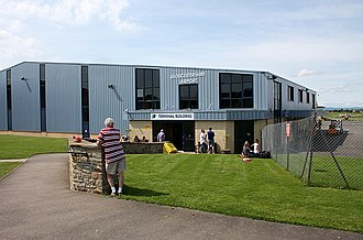 Gloucestershire Airport - Image: Gloucestershire Airport, terminal building. geograph.org.uk 1455893